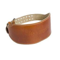 "6"" Oiled Leather Belt"