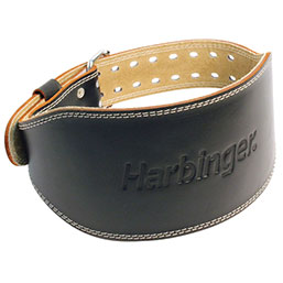 "6"" Padded Leather Belt"