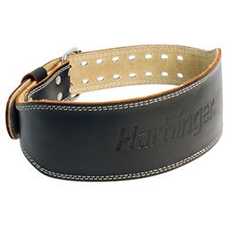 "4"" Padded Leather Belt"